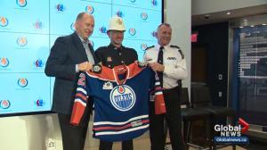 Edmonton Oilers to help Edmonton Police Service celebrate milestone