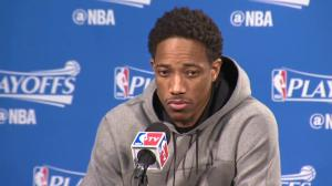 'I got the utmost confidence in him': DeMar DeRozan on Kyle Lowry