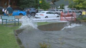Gusty winds continue to challenge Okanagan flood barriers