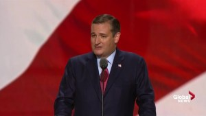 Ted Cruz gets booed at RNC after not endorsing Donald Trump