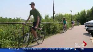 Celebrating bike week in Saskatoon