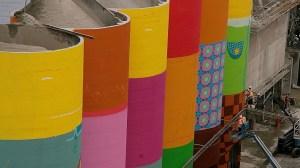Granville Island silos get a public art makeover