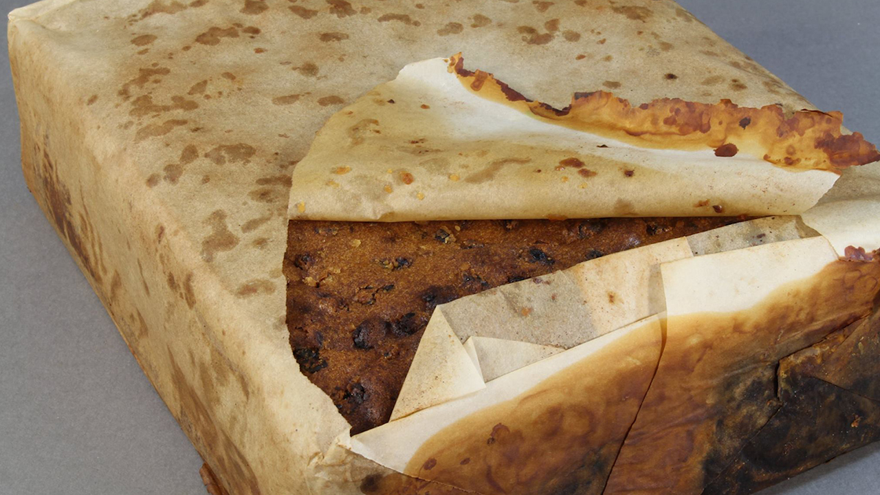 100-Year-Old Fruitcake Found in Antarctica