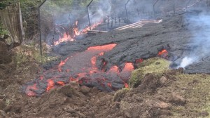 Lava flow in Hawaii is starting to slow