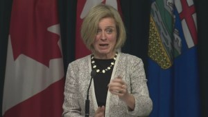 Premier Notley offers her reaction to the federal budget