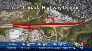 Trans-Canada Highway detour opens