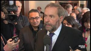 Mulcair: Time for Canadians to recognize residential schools as 'historic mistake'