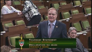 Peter Julian announces removal of federal 'tampon tax'