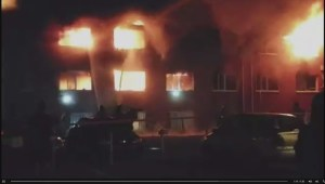 Raw Video: Residents missing in Drummondville fire