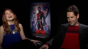Paul Rudd can't stop making fart-like sounds during Ant-Man interview
