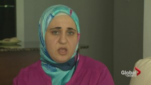 Syrian mother begs government to speed up asylum process for refugees