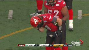 New concussion protocol put into place by Calgary Stampeders