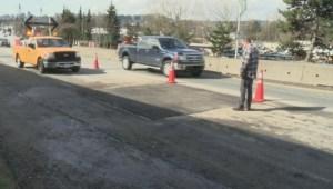 Surrey pothole claims
