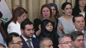 Yazidi MP Breaks Down During Parliamentary Address