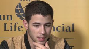 Popstar Nick Jonas on tour and living with type 1 diabetes