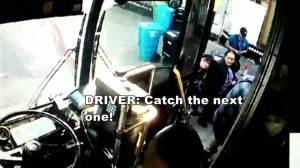 Bus driver wouldn't let woman in wheelchair on bus, tells her to 'catch the next one'
