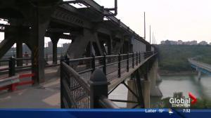 High Level Bridge barriers being installed to deter Edmonton suicides