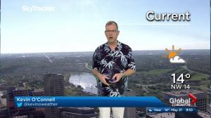 Edmonton and Alberta weather forecast: Sunday, May 21, 2017