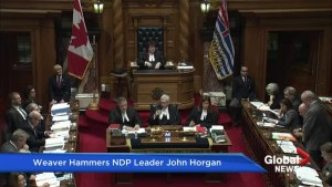 Debate over premier's office budget ends, angering Green Party