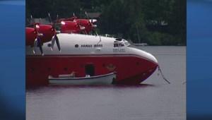 Raw: The Martin Mars water bombers