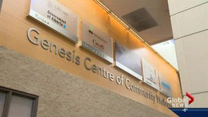 Global Calgary goes On The Road to the Genesis Centre