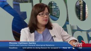 Minister Kathleen Ganley