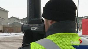 Slowing speeding in residential areas