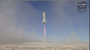 Blue Origin successfully lands crew capsule and booster rocket