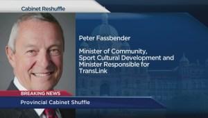 Premier Christy Clark reshuffles Cabinet