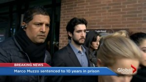 Marco Muzzo sentenced to 10 years in prison for crash that killed 4 people