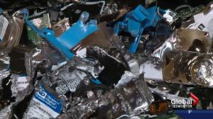Electronics recycling warehouse making a difference in Edmonton