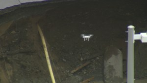 Caught on Camera: Curious drone investigates Ottawa sinkhole
