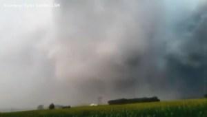Tornado touches down near St. Louis
