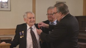 France gives highest honour to World War 2 veterans