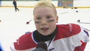 The Toronto Jr. Canadiens win the GTHL Atom Championship