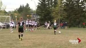 Calgary Foothills U14 team named Alberta junior team of the year award after memorable 2016
