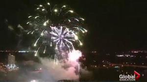 PotashCorp fireworks festival celebrates Canada 150