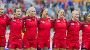Canada takes centre stage at women's World Cup Rugby final