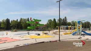 Henderson Lake outdoor pool nearing completion