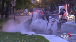 Montreal Plateau's tiny sidewalk rebuilt