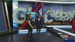 """Calgary Women's Show: """"Anti-gravity"""""""