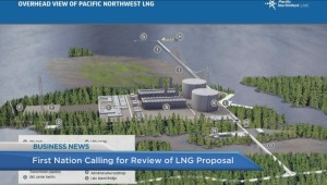 BIV: First Nation calling for review of LNG proposal