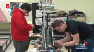 Alberta students heading to robotics equivalent of the World Series