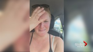 Canadian country singer Jessica Mitchell hears her song on radio for 1st time, records emotional video