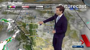 Edmonton Weather Forecast: April 19