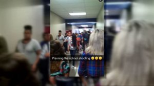 'Planning the school shooting': anonymous Snapchat message