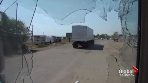 Ukraine government calling Russian convoy crossing border an invasion