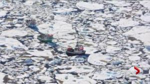 Daring rescue to reach crab fishermen stranded off Newfoundland