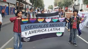 Hundreds march in Mexico City in support of same-sex marriage