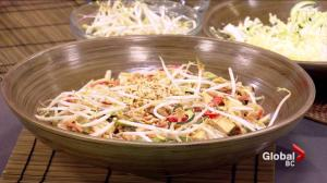 Nutrition: Thai inspired 'zoodle' salad with tofu